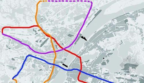 武汉四号线线路图 武汉四号 线路图 武汉 线路图 武汉地铁2号线图片